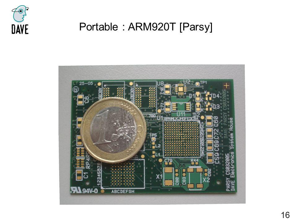 Portable : ARM920T [Parsy] 16