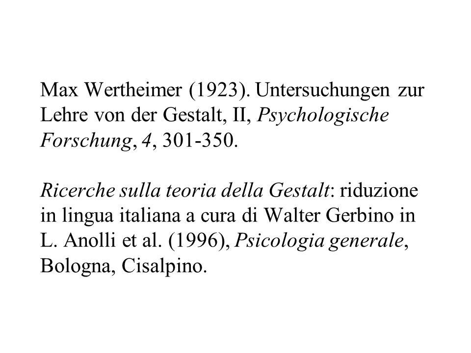 Max Wertheimer (1923).