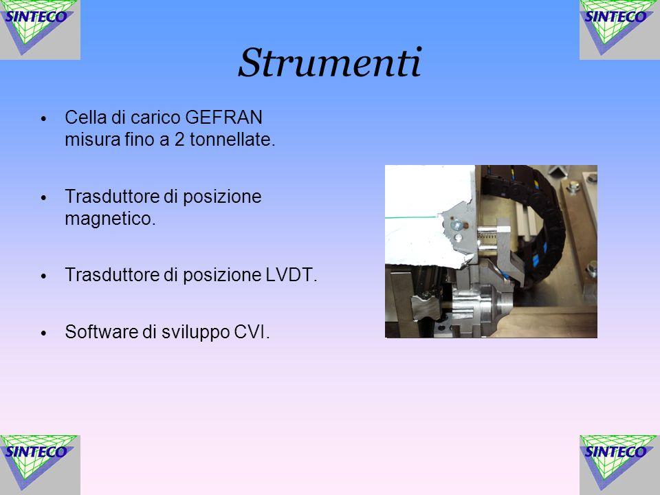 Strumenti Cella di carico GEFRAN misura fino a 2 tonnellate.