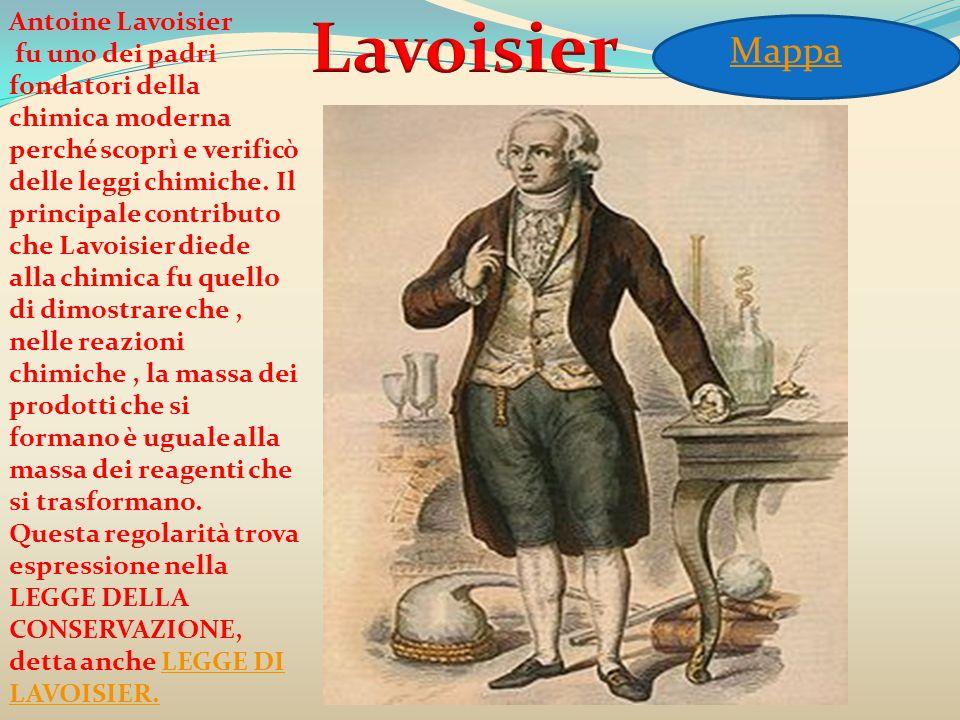 Antoine Lavoisier fu uno dei padri fondatori della chimica moderna perché scoprì e verificò delle leggi chimiche. Il principale contributo che Lavoisi
