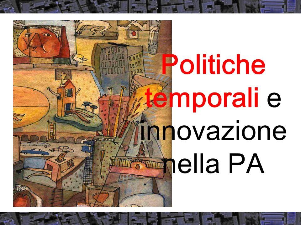 Linnovazione dei piani condivisi Sono nel cambiamento di paradigma : Condivisione di una idea di città Della relazione :Individuo-società-territorio