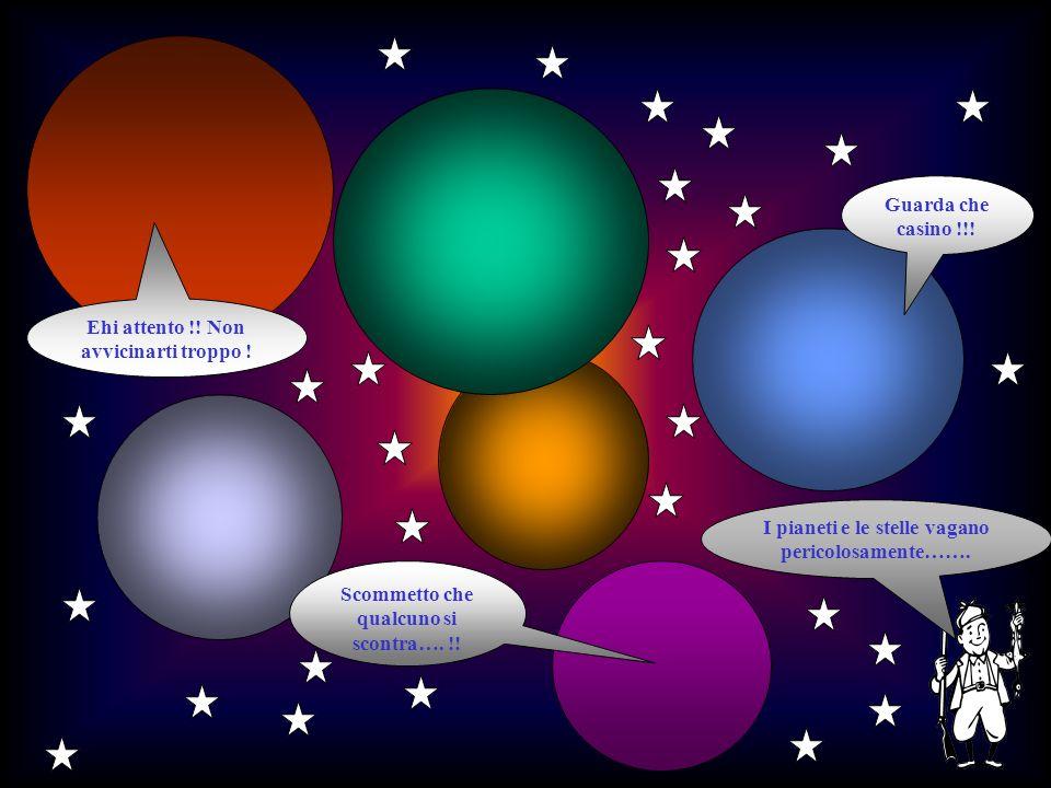 Sulla Luna non cè latmosfera come intorno alla Terra, per cui il cielo è sempre nero e senza nuvole anche in pieno giorno col Sole.