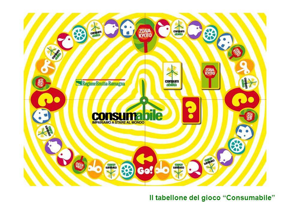 Il tabellone del gioco Consumabile
