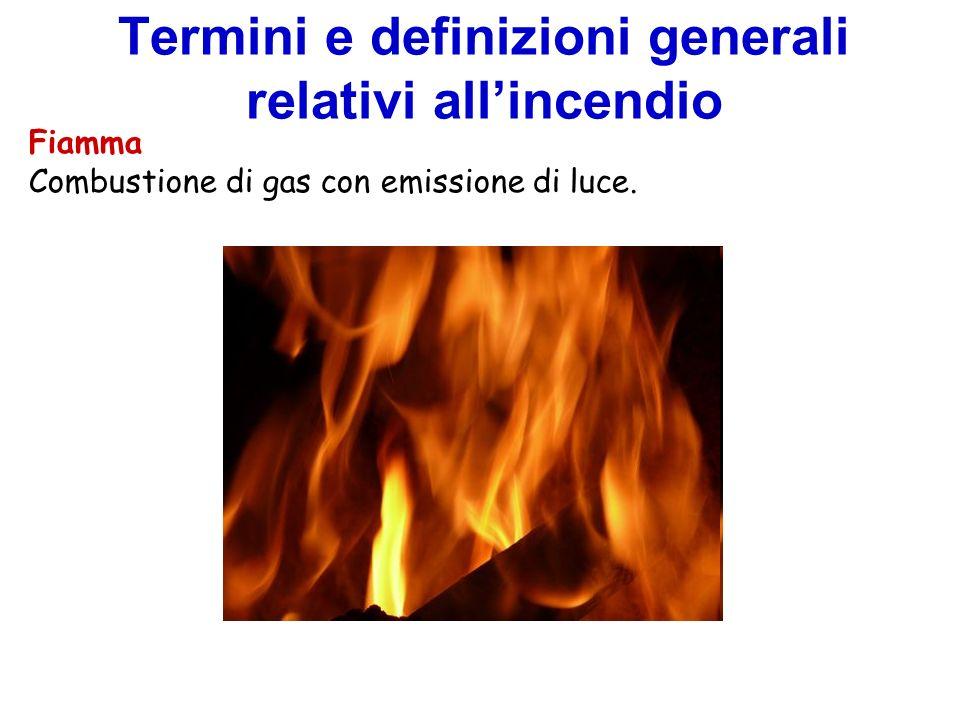Fiamma Combustione di gas con emissione di luce.