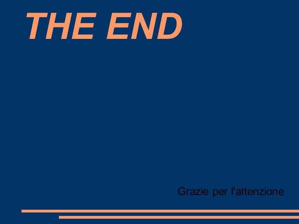 THE END Grazie per l'attenzione