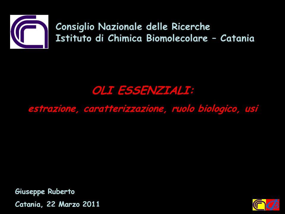 Consiglio Nazionale delle Ricerche Istituto di Chimica Biomolecolare Catania