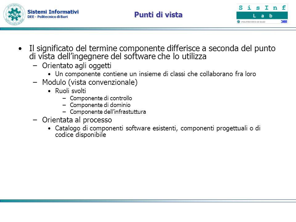 Sistemi Informativi DEE - Politecnico di Bari Container Il concetto fondamentale che sta alla base della piattaforma EE è quello di container .