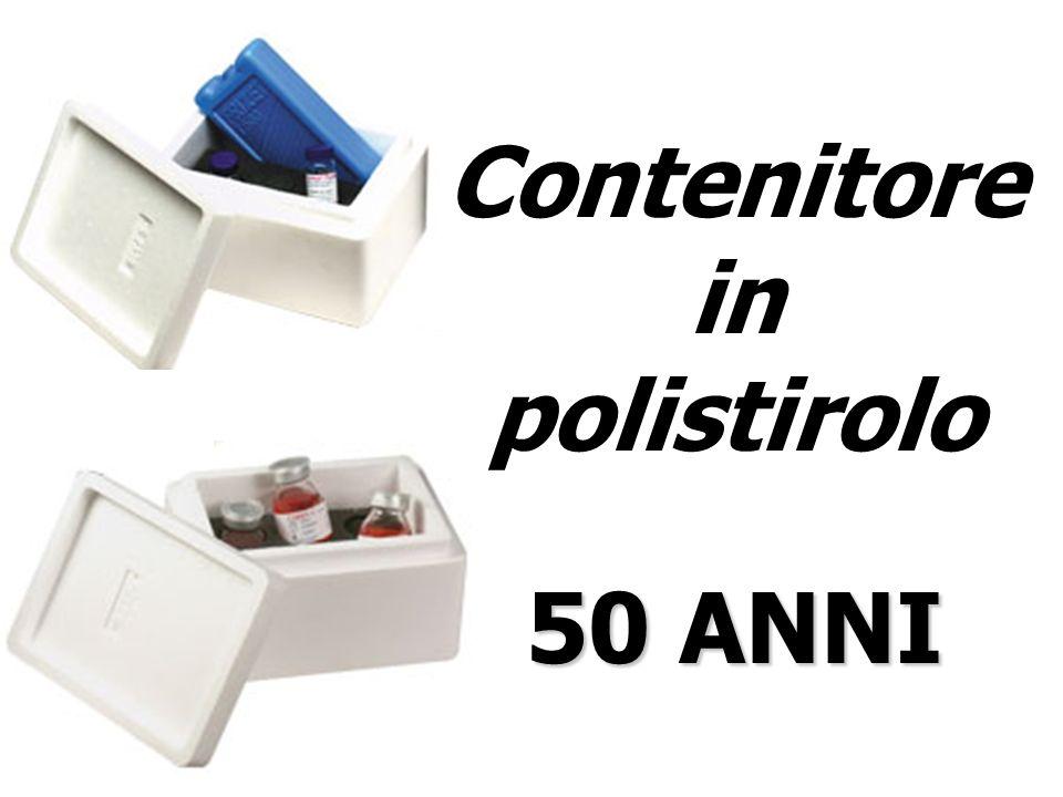 Contenitore in polistirolo 50 ANNI