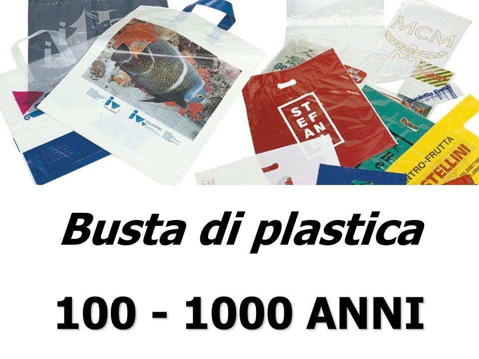 Busta di plastica 100 - 1000 ANNI