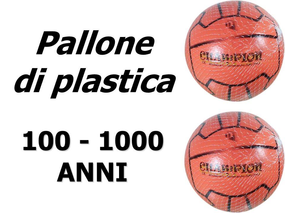 Pallone di plastica 100 - 1000 ANNI