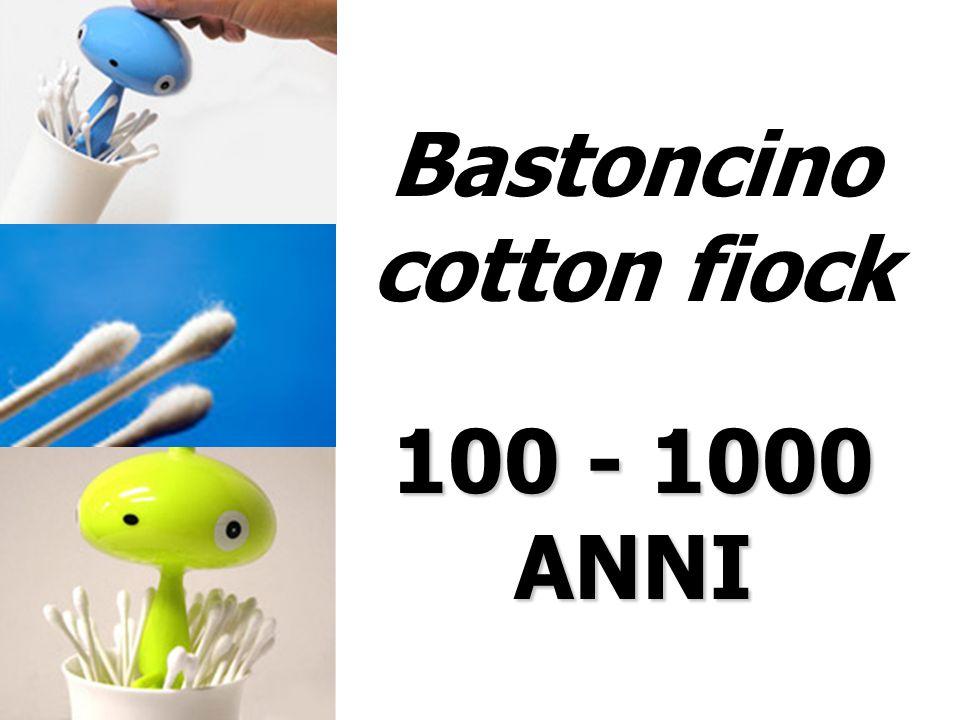 Bastoncino cotton fiock 100 - 1000 ANNI
