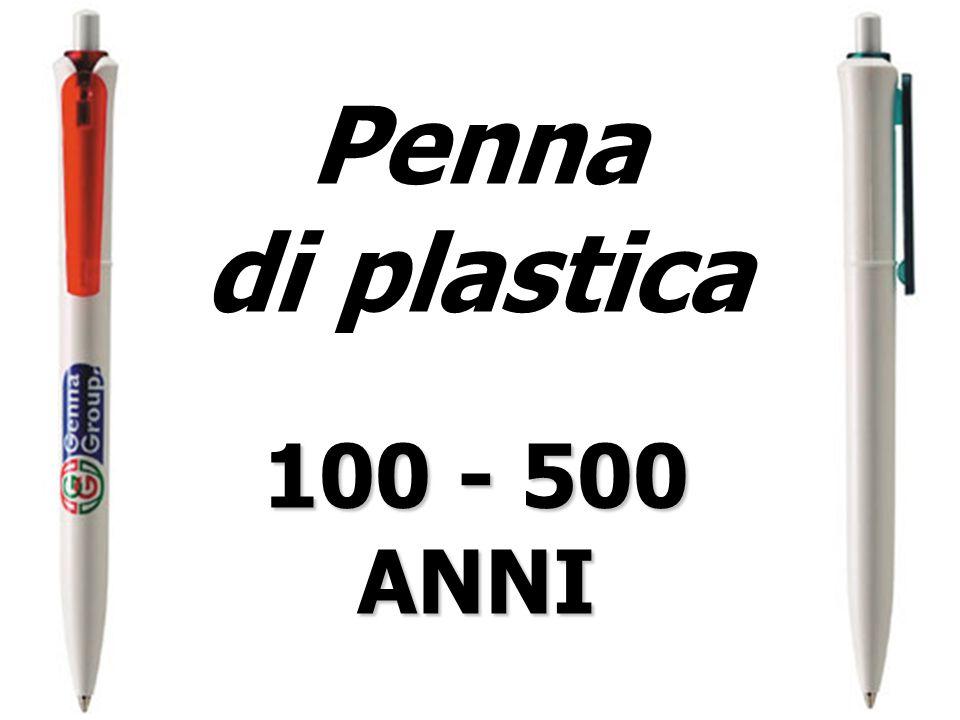Penna di plastica 100 - 500 ANNI