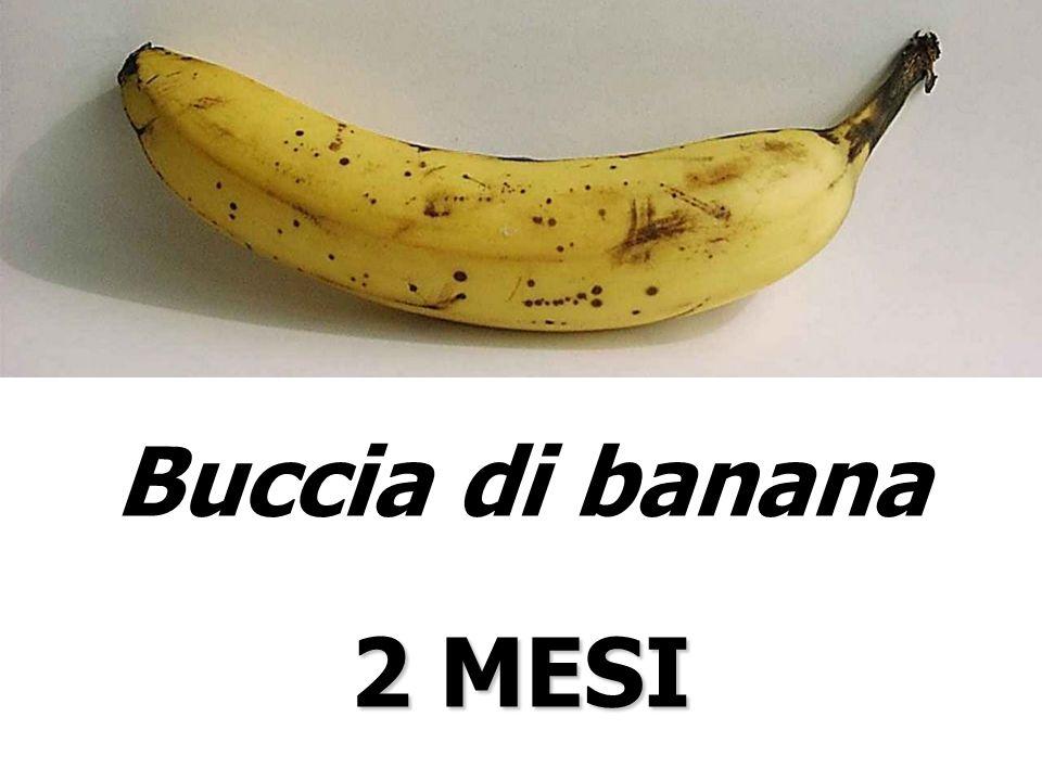 Buccia di banana 2 MESI