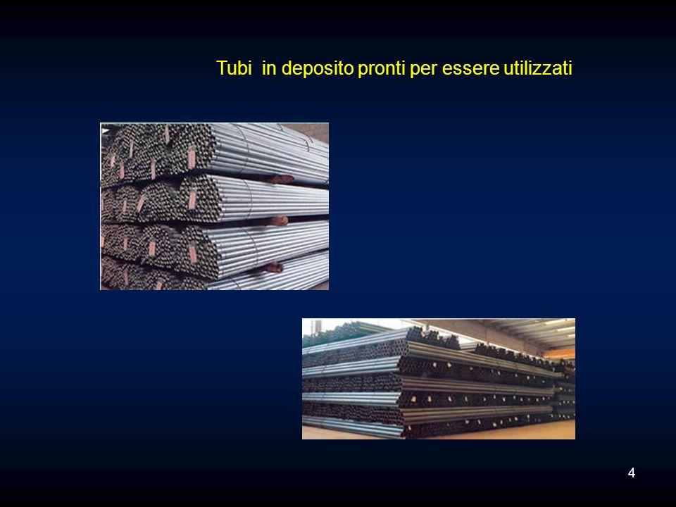 Per i materiali solidi vengono utilizzati i silos.