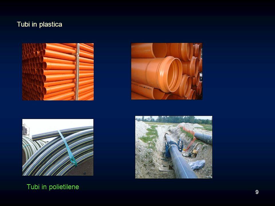 Tubi in plastica Tubi in polietilene 9