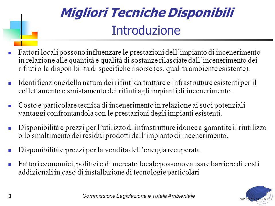 Commissione Legislazione e Tutela Ambientale84 Tab. 4.17