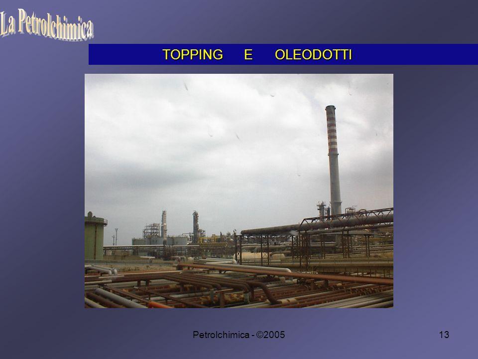 Petrolchimica - ©200513 TOPPING E OLEODOTTI TOPPING E OLEODOTTI