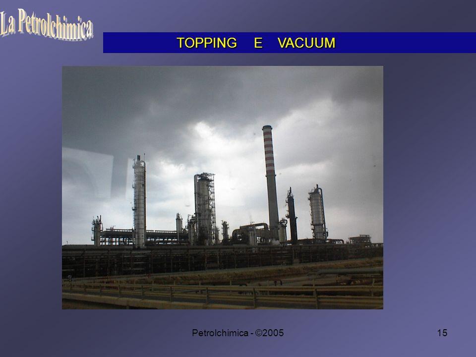 Petrolchimica - ©200515 TOPPING E VACUUM TOPPING E VACUUM