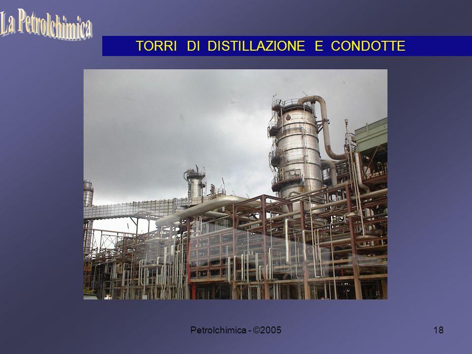 Petrolchimica - ©200518 TORRI DI DISTILLAZIONE E CONDOTTE