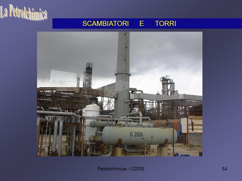 Petrolchimica - ©200554 SCAMBIATORI E TORRI