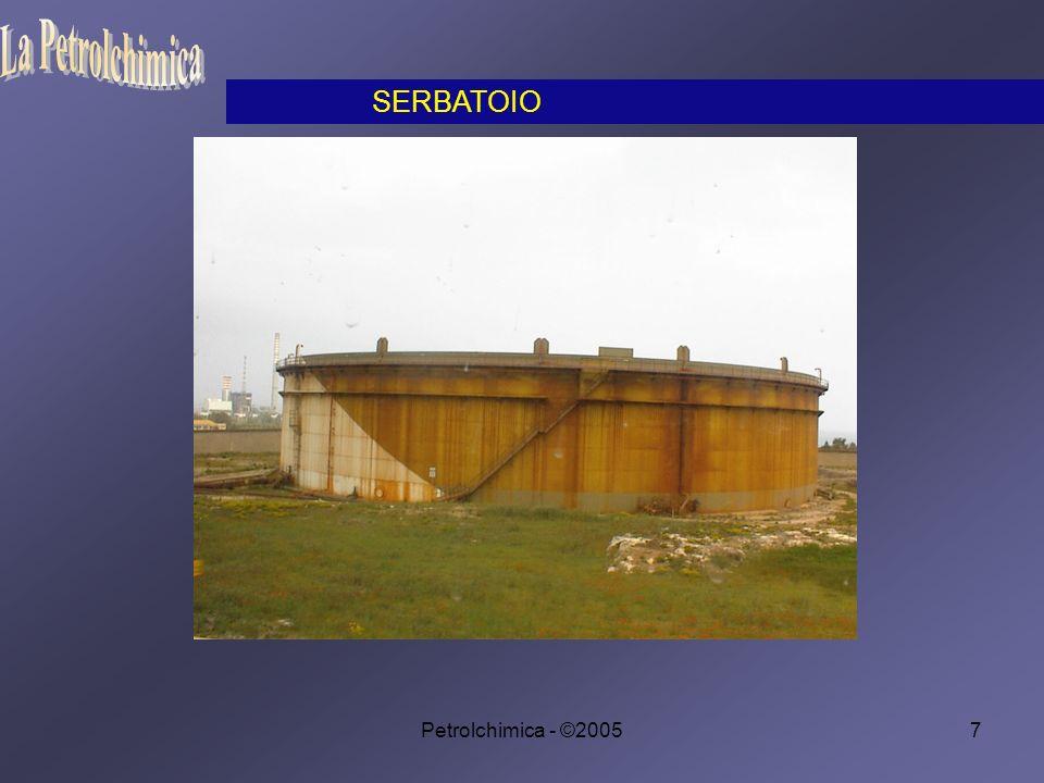Petrolchimica - ©200558 Le migliori benzine devono sopportare la massima compressione senza autoaccendersi.