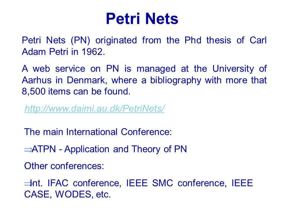 A special case of timed Petri nets are stochastic Petri nets where the firing times are considered random variables.
