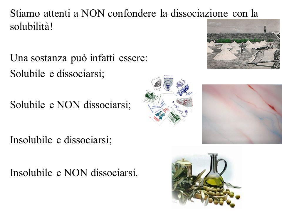 Quali sono le classi di sostanze chimiche che appartengono ai non elettroliti, agli elettroliti forti e a quelli deboli.