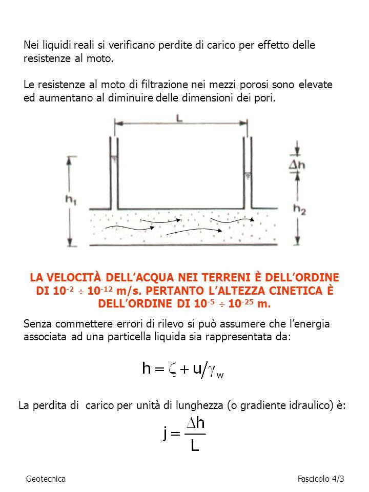56 7 8 q (7-5) q (5-6)q (8-5) Si procede analogamente per i punti che si trovano sul contorno del dominio di filtrazione.