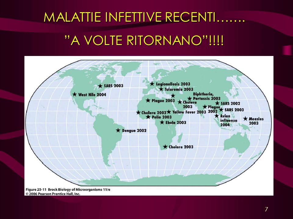MALATTIE INFETTIVE RECENTI……. A VOLTE RITORNANO!!!! 7
