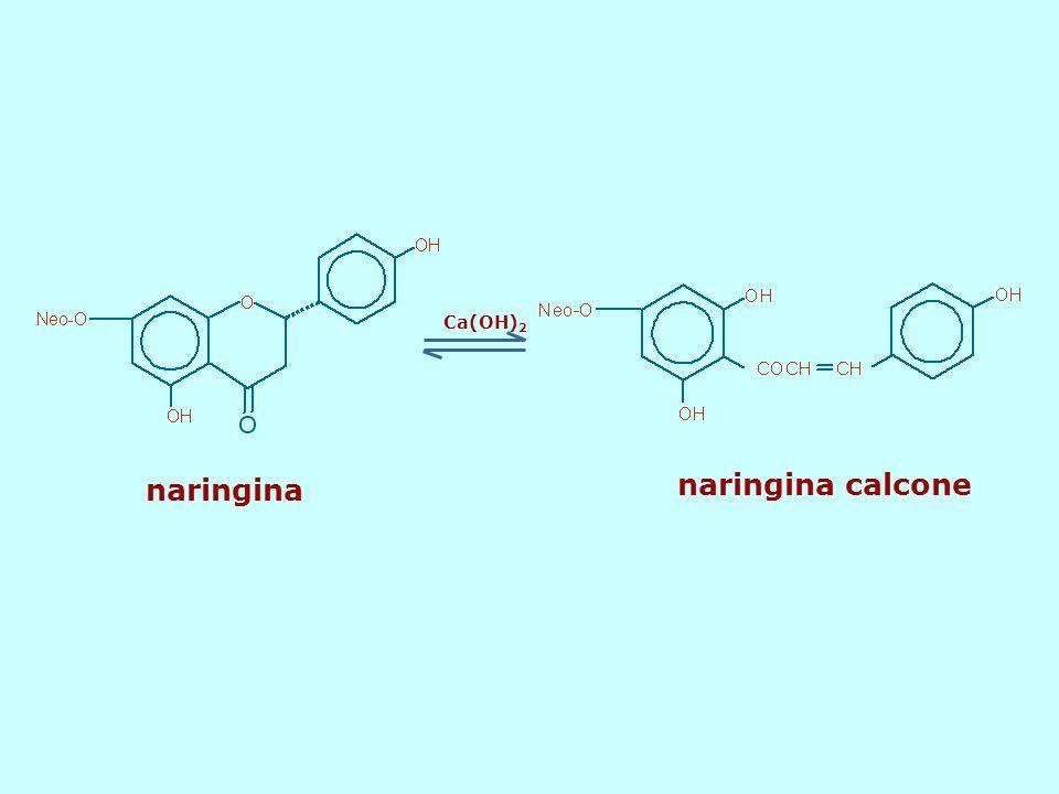 Ca(OH) 2 naringina naringina calcone