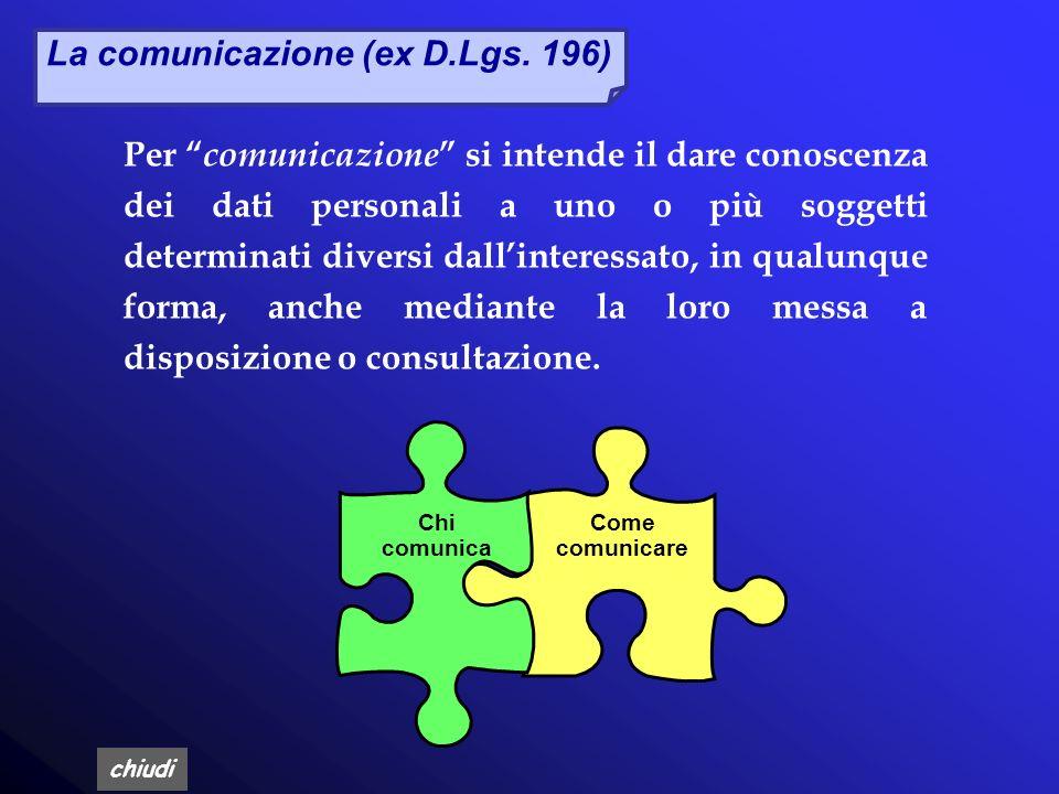 chiudi Art. 13, Informativa Le finalità e le modalità del trattamento La natura obbligatoria o facoltativa del conferimento dei dati Le conseguenze di