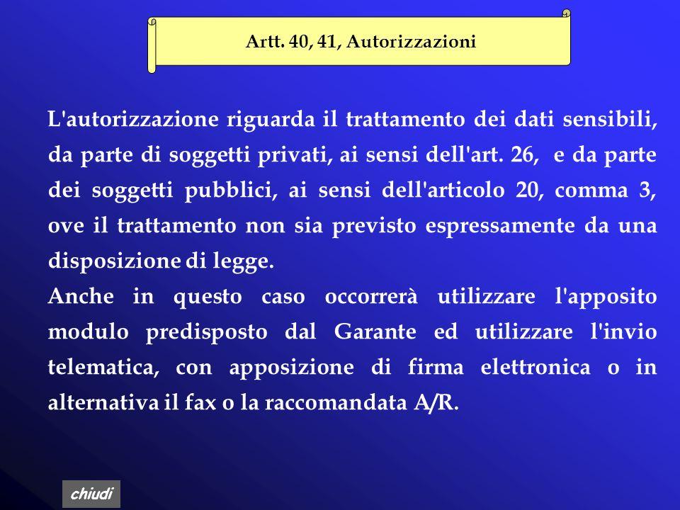 chiudi Art. 39, Obblighi di comunicazione La comunicazione è un adempimento previsto solamente per i soggetti pubblici quando un soggetto pubblico dev