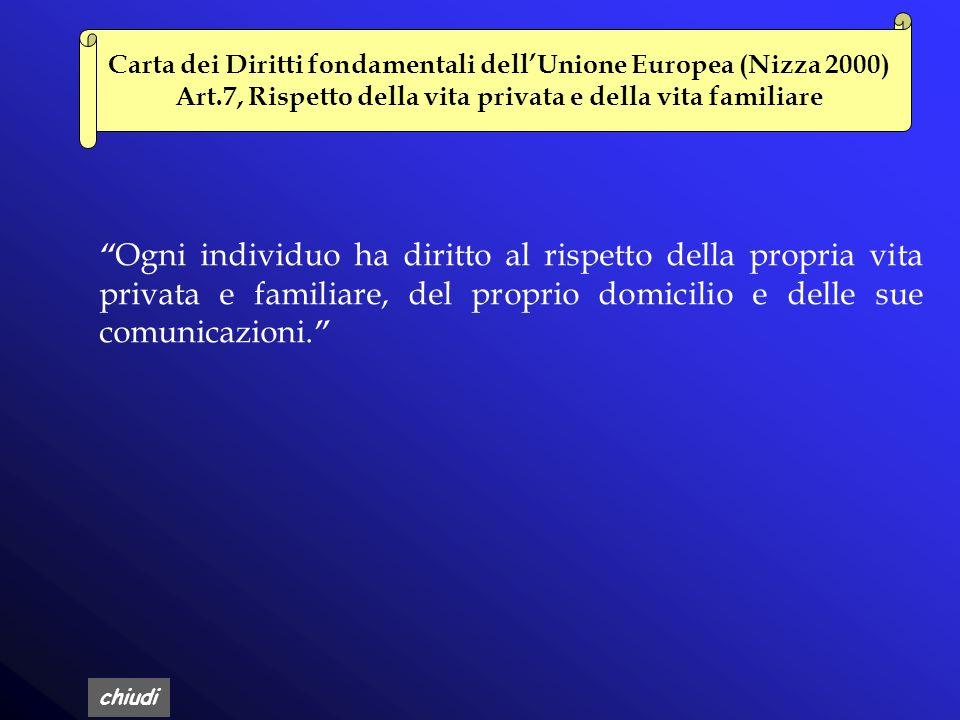 chiudi Convenzione di Strasburgo n.108/1981 Convenzione sulla protezione delle persone rispetto al trattamento automatizzato di dati di carattere pers
