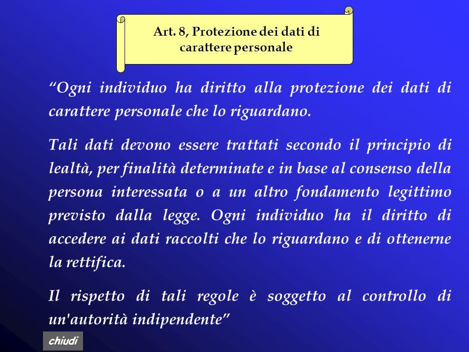 chiudi Capo II Regole Ulteriori per i Soggetti Pubblici (artt.