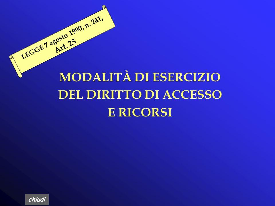 chiudi D.Lgs 196/2003 Art. 59,60 Accesso ai documenti amministrativi i presupposti, le modalità, i limiti per lesercizio del diritto di accesso ai doc