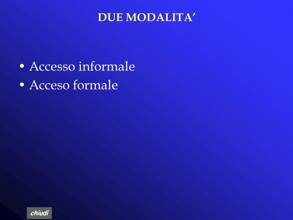 chiudi MOTIVAZIONE La richiesta di accesso ai documenti deve essere motivata e deve essere rivolta all'amministrazione che ha formato il documento o c