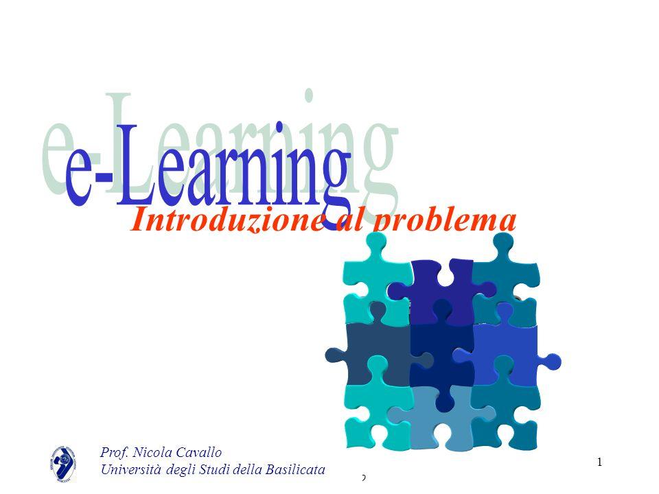 Nicola Cavallo 1 Introduzione al problema Prof. Nicola Cavallo Università degli Studi della Basilicata