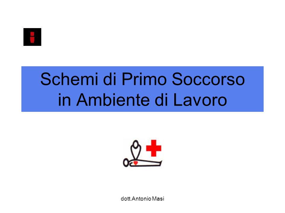 dott.Antonio Masi Schemi di Primo Soccorso in Ambiente di Lavoro