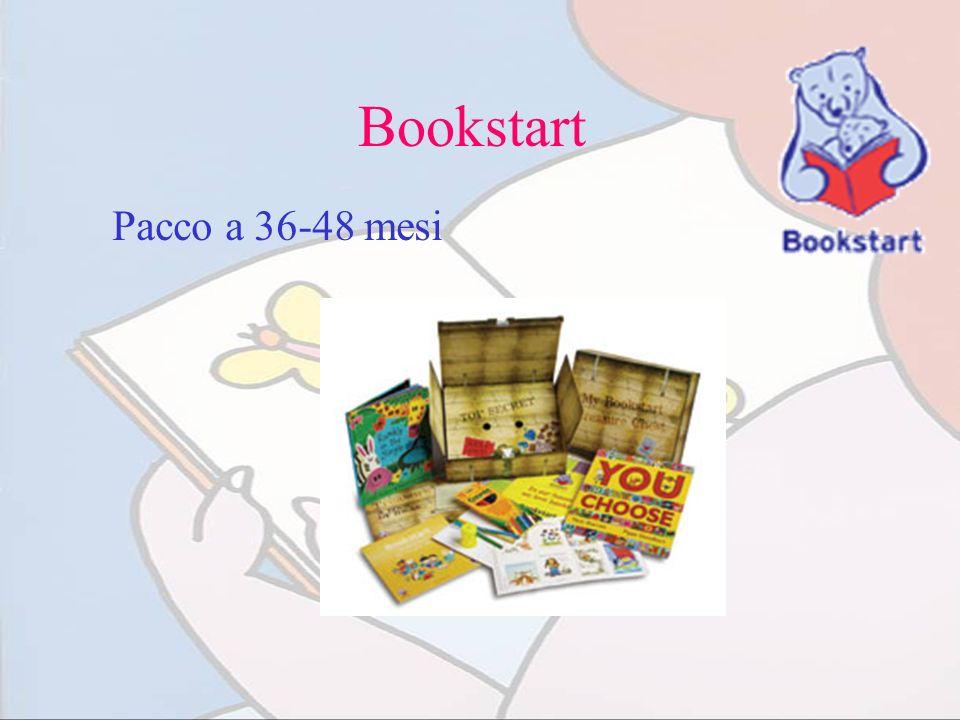 Bookstart Pacco a 36-48 mesi