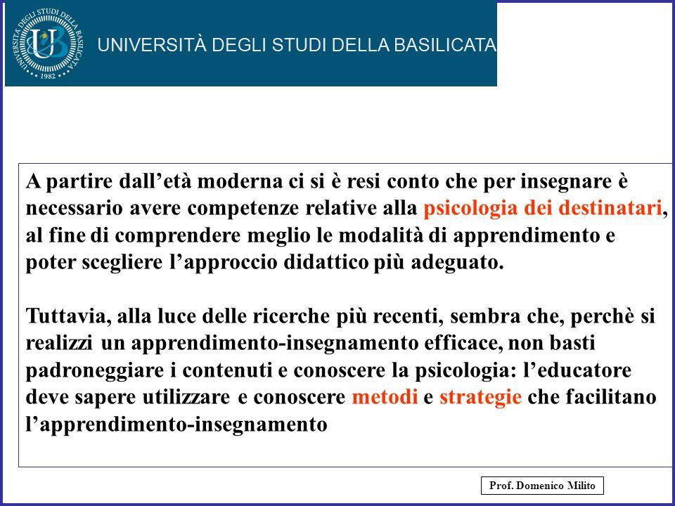 16 Linsegnamento e lapprendimento, secondo il parere degli studiosi del settore, si fondano sul dialogo, sulla partecipazione reale, sullo scambio comunicativo.