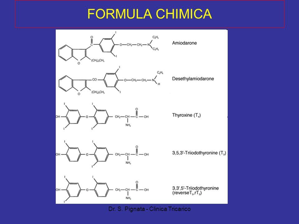 Dr. S. Pignata - Clinica Tricarico FORMULA CHIMICA