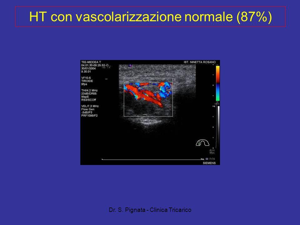 Dr. S. Pignata - Clinica Tricarico HT con vascolarizzazione normale (87%)