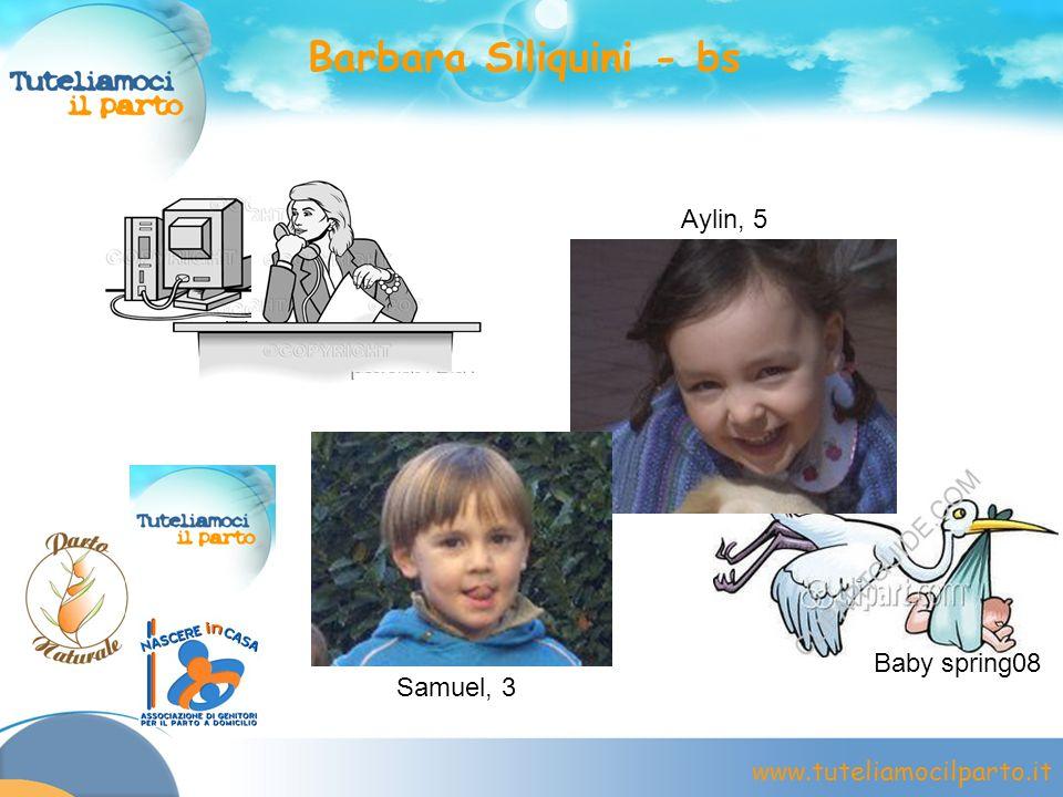 Barbara Siliquini - bs Samuel, 3 Aylin, 5 Baby spring08