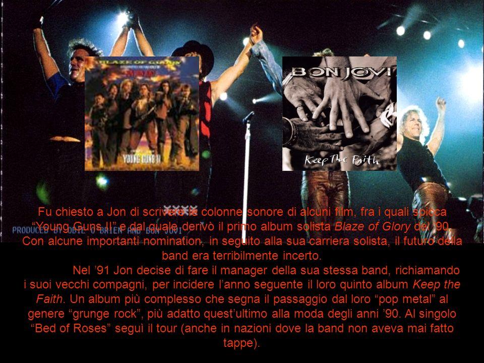 Fu chiesto a Jon di scrivere le colonne sonore di alcuni film, fra i quali spicca Young Guns II e dal quale derivò il primo album solista Blaze of Glo