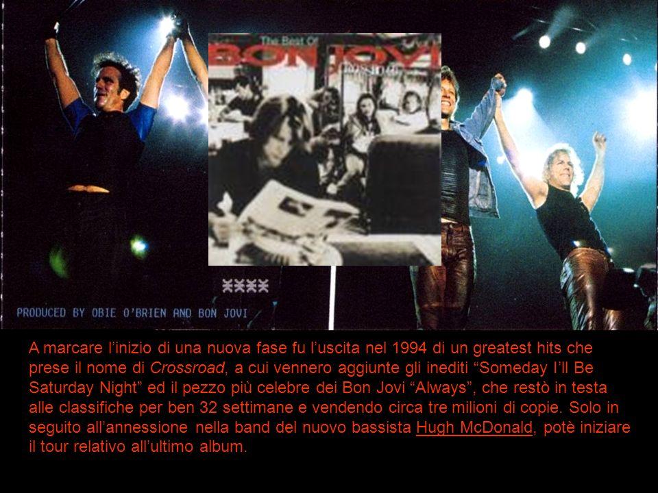 A marcare linizio di una nuova fase fu luscita nel 1994 di un greatest hits che prese il nome di Crossroad, a cui vennero aggiunte gli inediti Someday