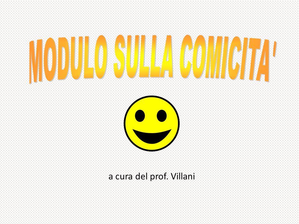a cura del prof. Villani