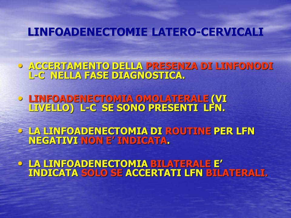 ACCERTAMENTO DELLA PRESENZA DI LINFONODI L-C NELLA FASE DIAGNOSTICA. ACCERTAMENTO DELLA PRESENZA DI LINFONODI L-C NELLA FASE DIAGNOSTICA. LINFOADENECT