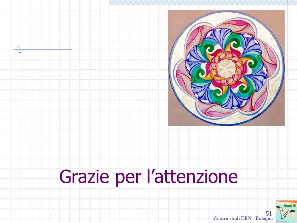 51 Centro studi EBN - Bologna Grazie per lattenzione