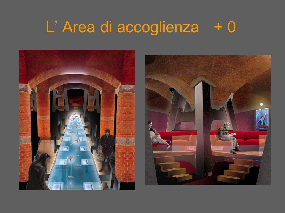 L Area di accoglienza + 0