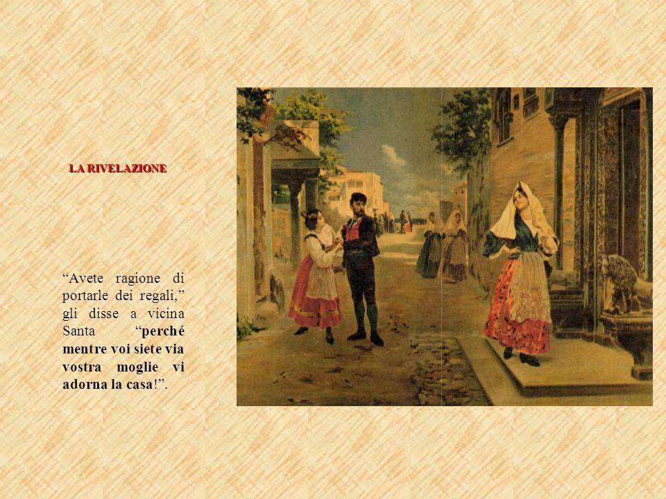 Protagonisti a confronto Turiddu[1] Macca, il figlio della gnà[2] Nunzia, come tornò da fare il soldato, ogni domenica si pavoneggiava in piazza colluniforme da bersagliere e il berretto rosso, che sembrava quello della buona ventura, quando mette su banco colla gabbia dei canarini (…).